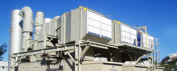 gasturbine noise control by IAC