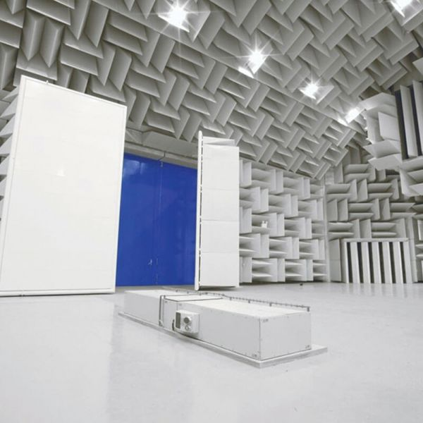 Acoustic Test Facilities 2 outside